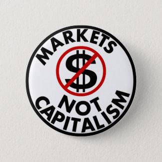 Markets Not Capitalism Button