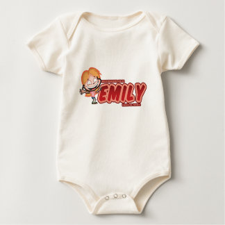 Marking of the Emily Baby Bodysuit