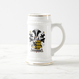 Markmand Family Crest 18 Oz Beer Stein