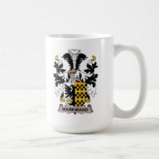 Markmand Family Crest Classic White Coffee Mug