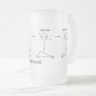 Markov Chain in Love Glass Mug