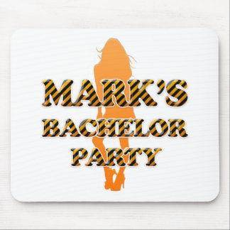 Mark's Bachelor Party Mouse Pad