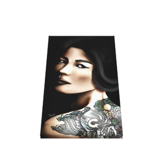 Marks Stretched Canvas Prints