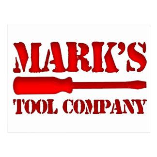 Mark's Tool Company Postcard