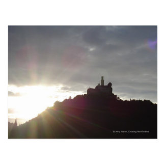 Marksburg Castle Postcard