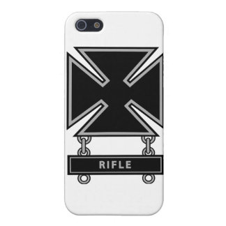 Marksman Badge w/Rifle Bar Case For iPhone SE/5/5s