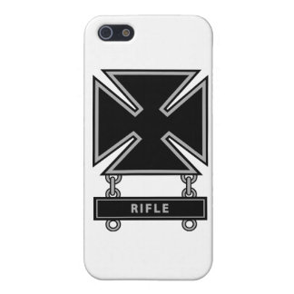 Marksman Badge w/Rifle Bar Cover For iPhone SE/5/5s