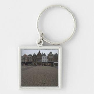 Markt, Delft Keychain