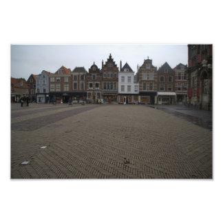 Markt, Delft Photo Print