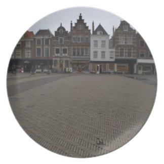 Markt, Delft Plate