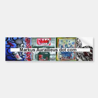 markus aurailieus dot com bumper sticker car bumper sticker