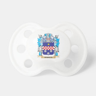Markus Coat of Arms - Family Crest Baby Pacifier