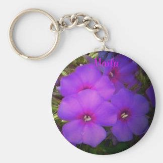 Marla-Floral Keychain