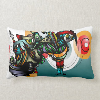 Marla & Zenith  Take on Mars Lumbar Pillow