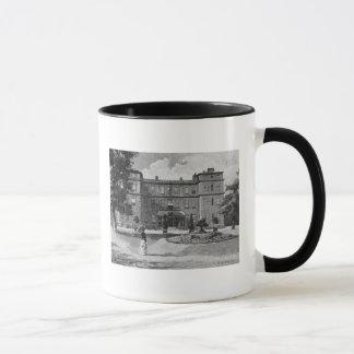 Marlborough House, from the garden, 1863 Mug