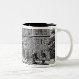 Marlborough House, from the garden, 1863 Two-Tone Coffee Mug
