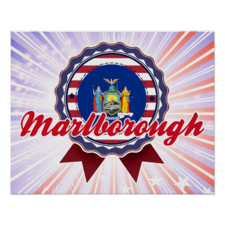Marlborough, NY Poster