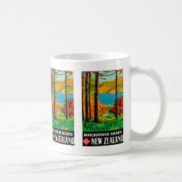 Marlborough Sounds New Zealand Coffee Mug