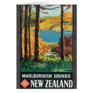 Marlborough suena el departamento Nueva Zelanda de Felicitaciones