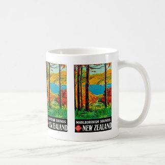 Marlborough suena Nueva Zelanda Taza De Café