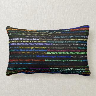Marlborough Township Text Design I Lumbar Pillow