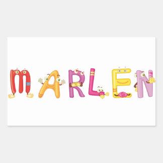Marlen Sticker