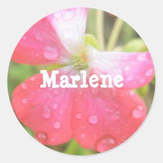 Marlene Classic Round Sticker