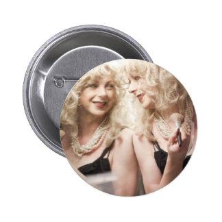 Marlene in mirror jpg button