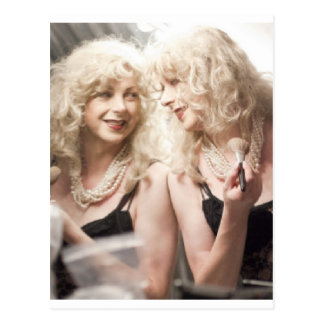 Marlene in mirror.jpg postcard