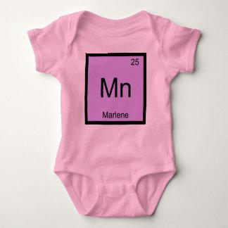 Marlene Name Chemistry Element Periodic Table Baby Bodysuit