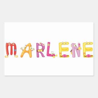 Marlene Sticker