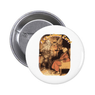 Marley and Scrooge Pinback Button