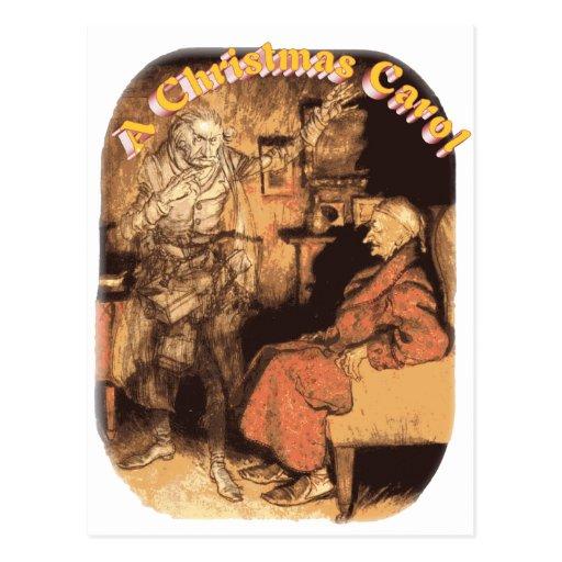 Marley and Scrooge Postcard