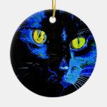 Marley At Midnight Christmas Tree Ornament