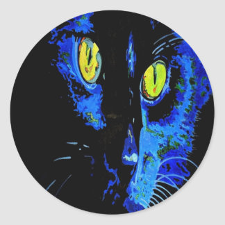 Marley At Midnight: Haunting Halloween Gifts Classic Round Sticker