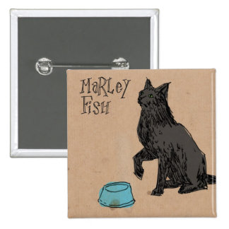 Marley Fish Supper Time Pin
