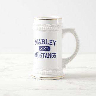 Marley Mustangs Middle Glen Burnie Maryland Beer Stein