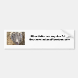 Marleyclose, Fiber folks are regul... - Customized Bumper Sticker