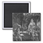 Marley's Ghost 2 Inch Square Magnet