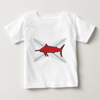 Marlin and Surfboards Baby T-Shirt