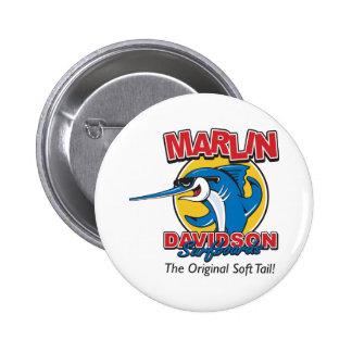 Marlin Davidson The Original Pinback Button