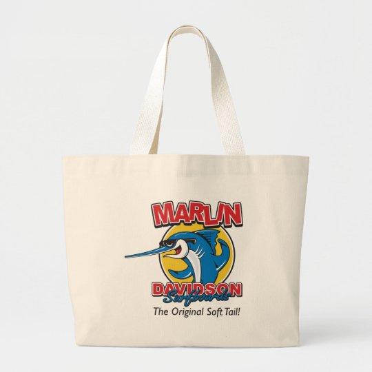 Marlin Davidson The Original Large Tote Bag