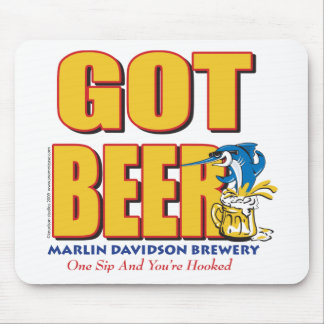 Marlin Davidsons Brewery - Got Beer Mouse Pad