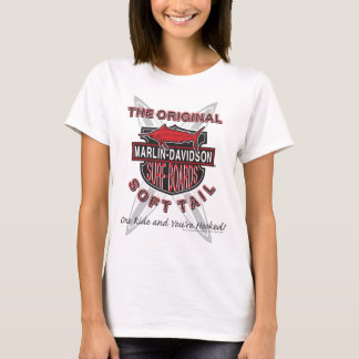 Marlin Davidsons Surf Boards T-Shirt