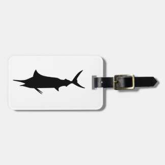 Marlin Fish Luggage Tag