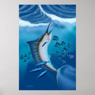 Marlin Fish Print
