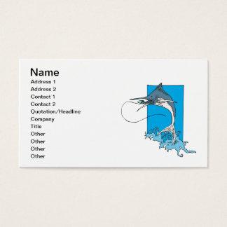 Marlin Fishing Business Card