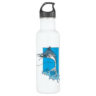 Marlin Fishing Water Bottle