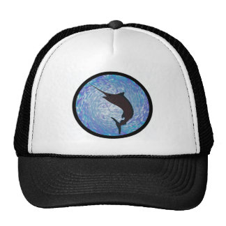 MARLIN IN PURSUIT HATS