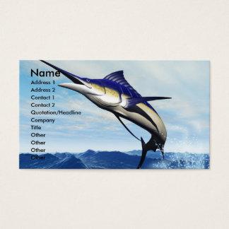 MARLIN JUMP BUSINESS CARD